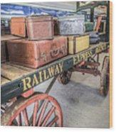 Railway Express Agency Wood Print