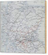 Railways Of Scotland Wood Print