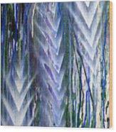 Rain 2 Wood Print