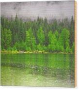 Rain Clouds Wood Print
