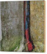 Rain Water Pipe Wood Print