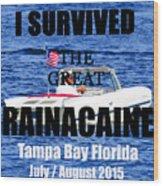 Rainacaine Tampa Bay 2015 Wood Print