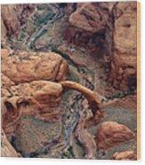 Rainbow Bridge Wood Print