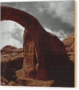 Rainbow Bridge Utah Wood Print