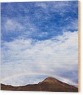 Rainbow Canyon Wood Print