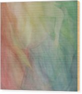 Rainbow Dancer Wood Print