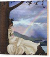 Rainbow Dreamer Wood Print by Robert Foster