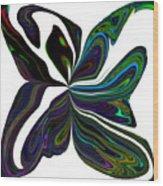 Rainbow Firefly Abstract Wood Print