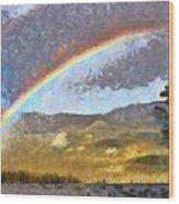 Rainbow - Id 16217-152046-6654 Wood Print
