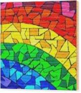 Rainbow ... Wood Print