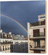 Rainbow Wood Print by Milan Mirkovic