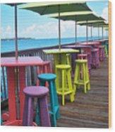 Rainbow Of Keys Wood Print