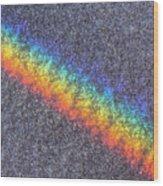 Rainbow On The Sands Of Pensacola Beach Wood Print