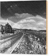 Rainbow Road - Id 16217-152021-8918 Wood Print