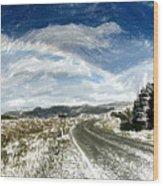 Rainbow Road - Id 16217-152040-7206 Wood Print