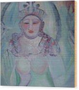 Rainbow Shiva Wood Print