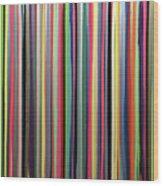 Rainbow Stripe Wood Print