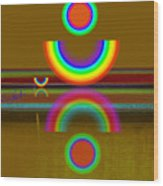 Rainbow Warrior Wood Print