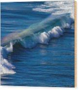 Rainbow Wave Wood Print