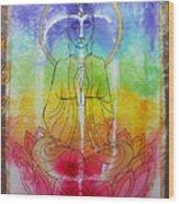 Rainbowbuddha Wood Print