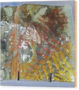 Rainforest Glass Page Wood Print