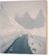 Rainier Haunting Wood Print