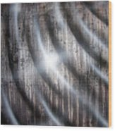 Raining Wood Print