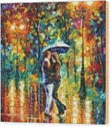 Rainy Dance Wood Print