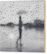 Rainy Day Wood Print