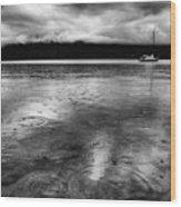Rainy Days In Summerland Wood Print