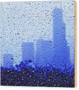 Rainy Seattle C010 Wood Print