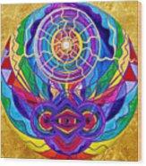 Raise Your Vibration Wood Print