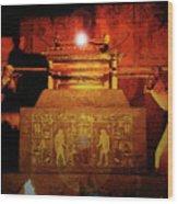 Raising The Ark Wood Print