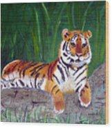 Rajah Wood Print