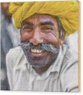 Rajput High School Teacher - Paint Wood Print