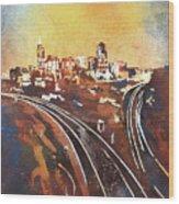 Raleigh Sunrise II Wood Print