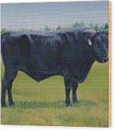 Ralphs Bull Wood Print