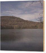 Ramapo Valley Lake Wood Print