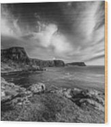 Ramasaig Bay Neist Point Wood Print