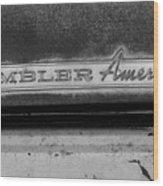 Rambler American Wood Print
