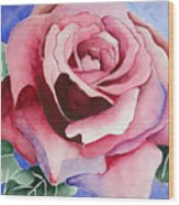 Ramblin' Rose Wood Print