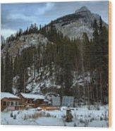 Rampart Creek Hostel Wood Print