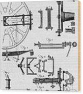 Ramsdens Dividing Engine, 18th Century Wood Print