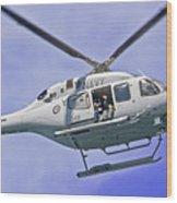 Ran N49 Bell 429 Global Ranger N49-048 Wood Print