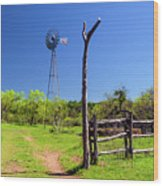 Ranch At Click Gap II Wood Print