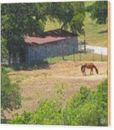 Ranch Life Wood Print