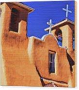 Ranchos De Taos Church Wood Print