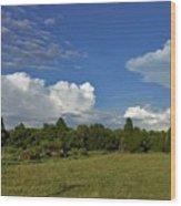 Randolph County Evening Storms Wood Print