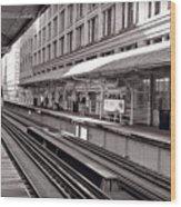Randolph Street Station Chicago Wood Print