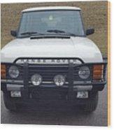 Range Rover Classic Wood Print